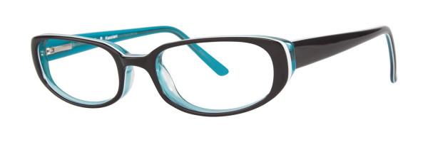 GALLERY Eyeglasses KASSIANI Black 51MM