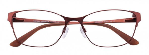 136aa89c4634 EasyClip EC394 Eyeglasses - EasyClip by Aspex Authorized Retailer ...