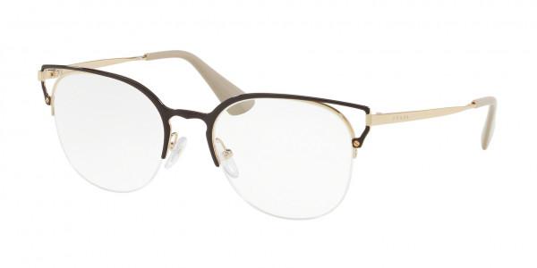 48979188b174 Prada PR 64UV CATWALK Eyeglasses - Prada Authorized Retailer ...