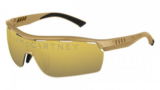Stella McCartney SC0152S Sunglasses, 015 - GOLD with GOLD lenses