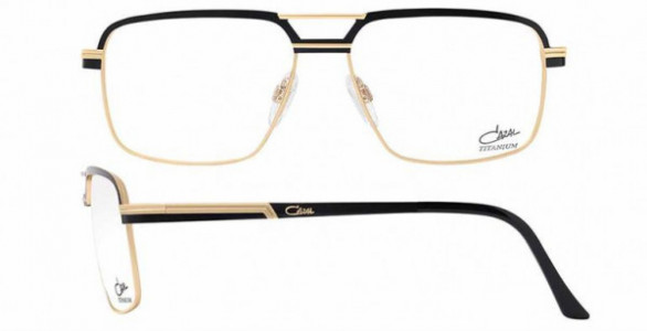 Cazal CAZAL 7079 Eyeglasses, 001 BLACK-GOLD