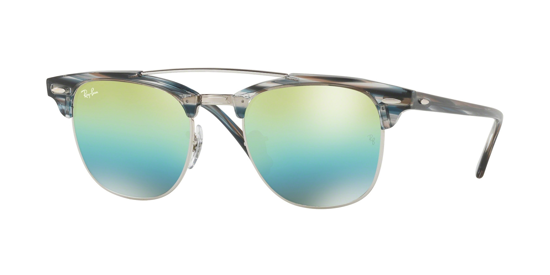 Ray-Ban RB3816 CLUBMASTER DOUBLEBRIDGE Sunglasses - Ray-Ban Authorized Retailer | coolframes.ca