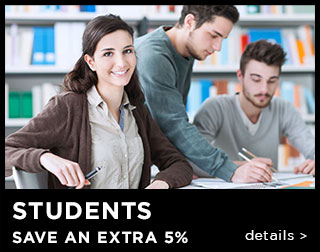 Students Save An Extra 15%