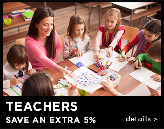 Teachers Save An Extra 15%